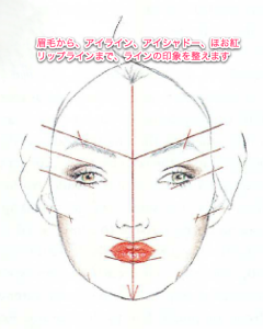 顔全体のラインと印象