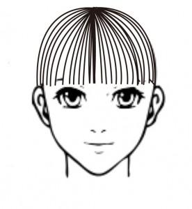 前髪の横水平2-1