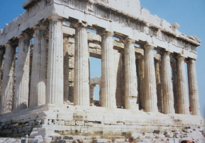 ギリシャパンテノン神殿