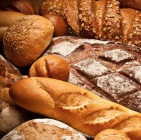グルテン入のパン