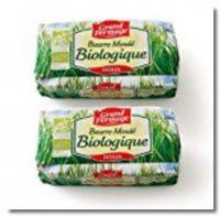 有機バイオバター グラスフェッドバター 無塩バター