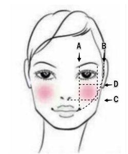 今どきのチークの入れ方 チークの入れ方で顔はどう変化する