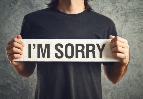 間違いを認める勇気!間違いを認めるか、隠蔽するかで人間の価値が決まる?